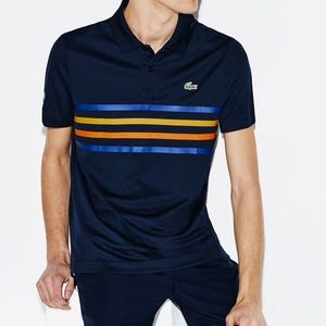 LACOSTE TENNIS POLO. SPORT. LARGE. NWT